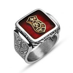 Blessed Sandal Silver Ring